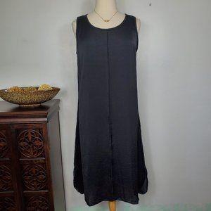 Kate & Mallory Sleeveless Black Shift Dress, XL